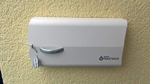 meinPAKETSACK - die sichere Paketstation für Zuhause, Paketbox für alle Paketdienste zur Annahme von Paketen in Miet- und Eigentumswohnungen, universelle Montage & platzsparend (Basic) - 5
