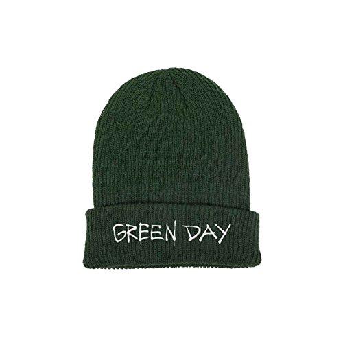 Green Day Mütze Beanie Band Logo Revolution Radio Nue offiziell Green Day-logo-beanie