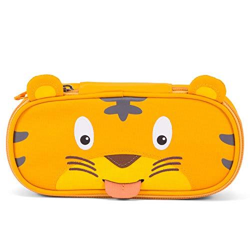 Affenzahn Mäppchen für 1-5 jährige im Kindergarten - Timmy Tiger - Gelb (Federmäppchen Kinder)