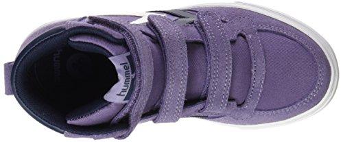 Hummel Stadil Canvas Jr Hi, Sneakers Hautes Mixte Enfant Violet (Cadet 4103)