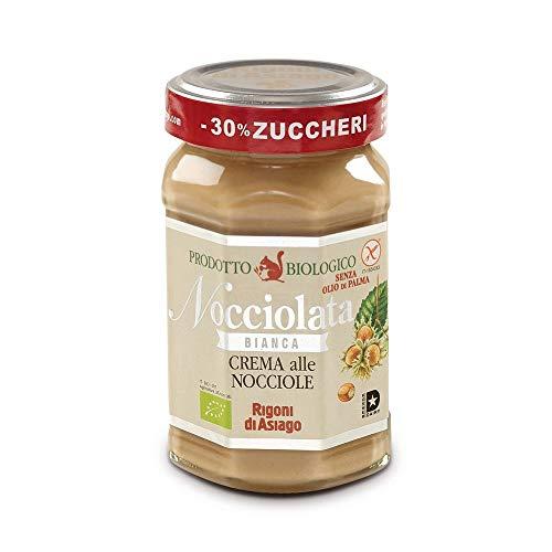 Crema alle nocciole Nocciolata Bianca Rigoni di Asiago 270g prodotto biologico
