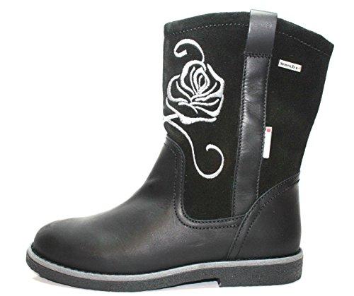 Juge 62.3367, bottes fille Noir - Noir