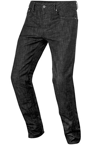 Alpinestars Copper Denim Motorrad-Jeans Größe: 36 Farbe: Schwarz (Top-bike-shorts)