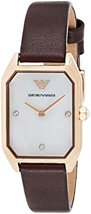 Emporio Armani Ladies Wrist Watch, Red