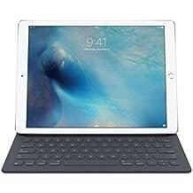 Apple Smart Keyboard - teclados para móviles (Docking, Smart Connector, Apple, iPad Pro, QWERTY, Inglés, Negro, A prueba de salpicaduras)
