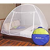 Classic Mosquito Net Foldable (White-Premium) (Size-Double)