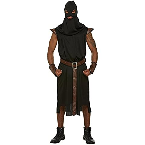 Adult Men's Historical Executioner Halloween Fancy Dress Party Costume Outfit by Fancy Me