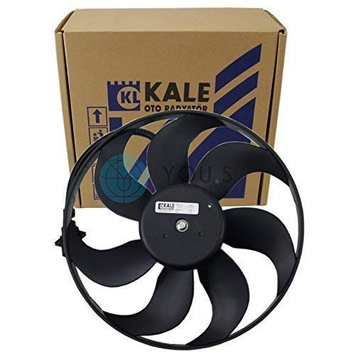 Kale 6q1820015/Ventilateur int/érieur Moteur /électrique diam/ètre 175/mm Tension 12/V