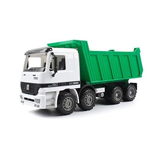NOQ Large Dump Truck/ Inertial Drive Resistant Dump Truck/ Transport Large Truck Children's Boy Toy Car
