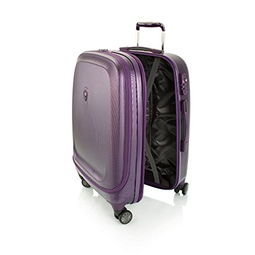 ... 50% SALE ... PREMIUM DESIGNER Hartschalen Koffer - Heys Crown Smart Gateway Lila - Trolley mit 4 Rollen Medium Lila