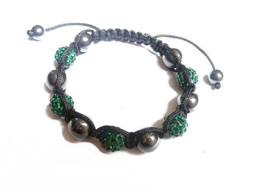 bracelet-style-shamballa-5-perles-cristal-8-perles-hematites-7-coloris-disponibles-couleur-vert
