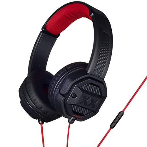 JVC Xtreme Xplosives On-Ear Headphone with Remote and Microphone - Black Best Price and Cheapest