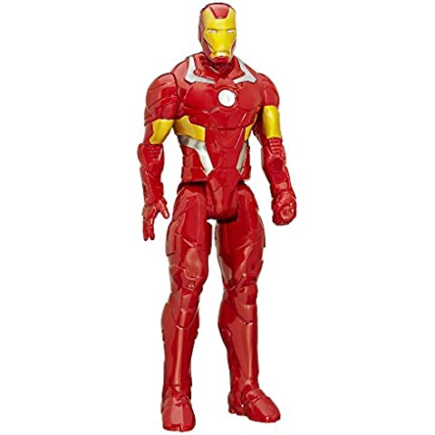 Marvel Titan Hero Series Iron Man 12 inch Figura De Acción
