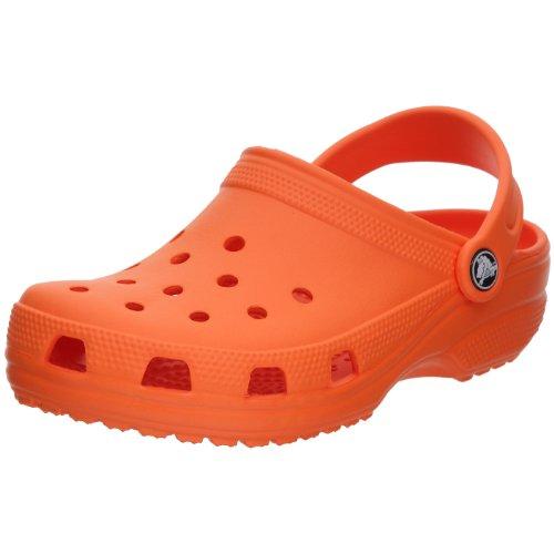 Crocs Classic Kids, Sabots Mixte Enfant Orange (Orange)