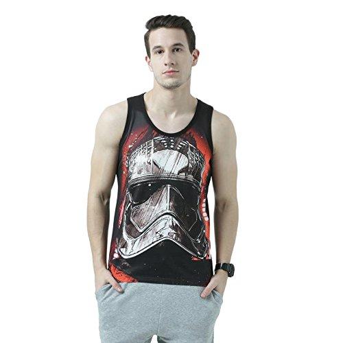 Star Wars Black Vest For Men STWV0074_4XL