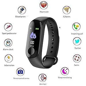 TICTOC Waterproof Band 2 M3 Smart Watch Heart Rate: Amazon