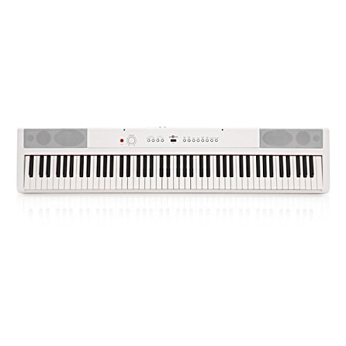 Piano de Escenario SDP-2 de Gear4music Blanco