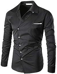Amazon.es  purificacion garcia - Negro   Camisetas d0297b78a6d