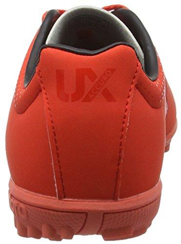 Umbro Ux Accuro Club Tf-Jnr, Chaussures de Football Entrainement Garçon Rouge (Eah/Grenadine/Black)