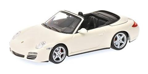 Minichamps - 400066431 - Véhicule Miniature - Porsche 911 / 997 Carrera 4S Cabriolet - Echelle