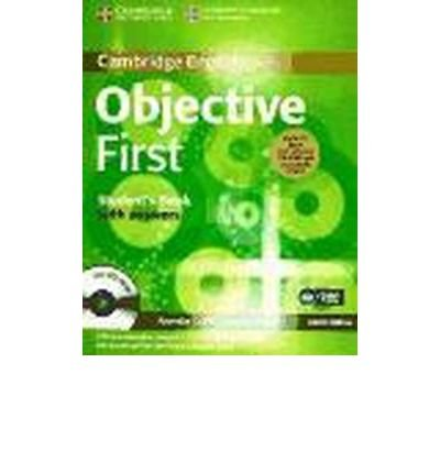 Objective First Student's Book Pack (student's Book with Answers with CD-ROM and Class Audio CDs (2)) (Objective) (Mixed media product) - Common