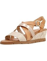 Sandalias y chanclas para mujer, color marr�n , marca HISPANITAS, modelo Sandalias Y Chanclas Para Mujer HISPANITAS EX201 Marr�n