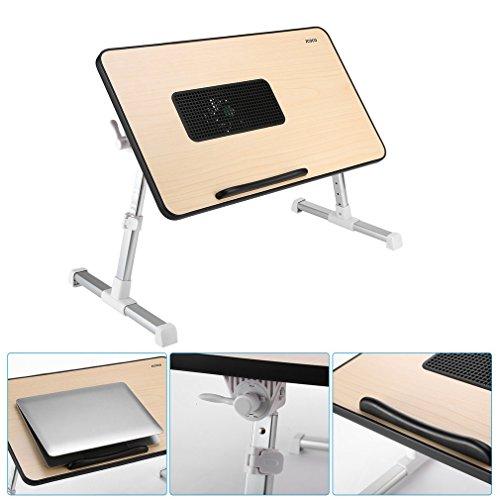 ICOCO Mesa Ajustable sobre cama para Portátil, soporte de lectura para niños