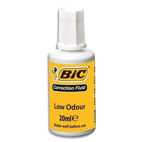 BIC Correction Fluid 20ml pudelko 10 sztuk