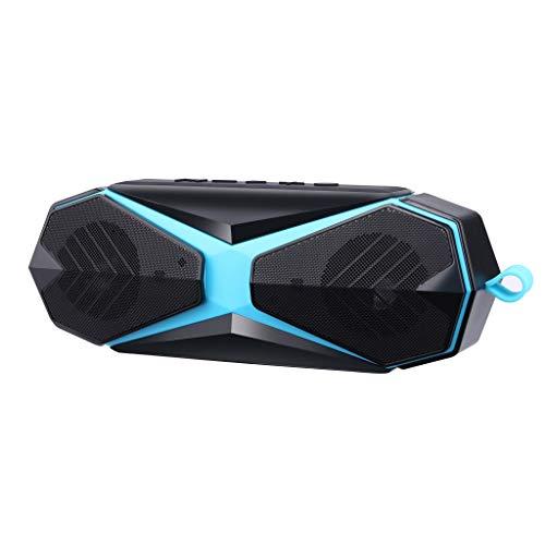YUHUISTART Moskito Mörder Lautsprecher 2 in 1 Wasserdichter Drahtloser Bluetooth Außen Moskito-Repellent Tragbarer Stereo-Lautsprecher -