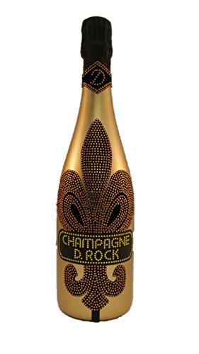 D. Rock Champagner Luminous gold Luxus LED Dom Champagne Kristalle Vintage Luxury Club. Das Luxusgeschenk für Männer und Frauen