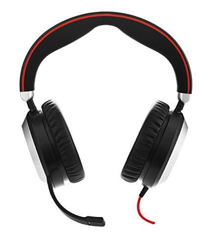 remium-Over-Ear-Kopfhörer, USB und 3,5mm-Klinke für PC/Laptop/Smartphone/Handy/Tablet, ANC, Skype for Business zertifiziert ()