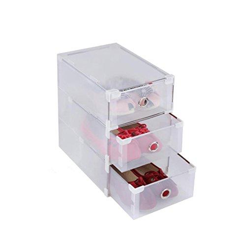 Cassetti In Plastica Componibili.Vinteky Cassettiera Componibile Con 10 Cassetti In Plastica