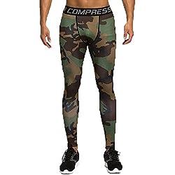 Mallas hombre Militar (verde,marron) M