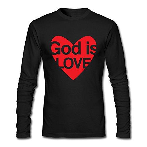 xj-cool-dieu-est-amour-hommes-de-cool-t-chemises-noir-noir-s