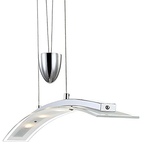 Alta qualità LED 20 watt a sospensione lampada a sospensione sala soffitto vetro lampada dimmerabile Globo 6823 4ZS