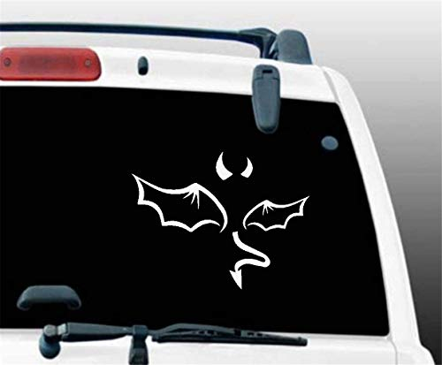 Auto Aufkleber Auto Aufkleber Red Evil Devil Aufkleber Aufkleber Jdm Funny Vinyl Fenster Bumper Laptop 12.7Cm -