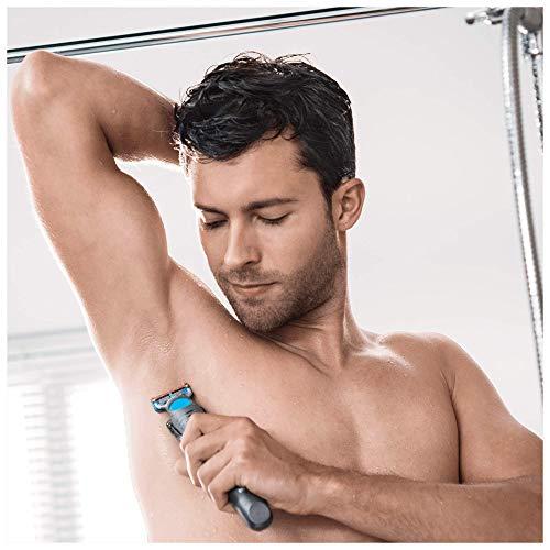 Braun BG 5010 - Afeitadora corporal para hombres, depiladora masculina para el vello de todo el cuerpo, color negro, sólo recargable