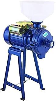 طاحونة كهربائية 2200 واط عالية التحمل كهربائية تجارية مطحنة جافة حبوب الذرة حبوب القهوة القمح آلة التغذية مع ق