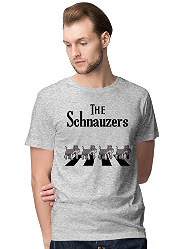 Crossing Light T-shirt (The Abbey Schnauzers Crossing The Road Men's Novelty T-Shirt,T-Shirts & Hemden(X-Large))
