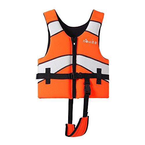 MLIAN Schwimmweste Kinder, Schwimmen Jacke für Jungen Mädchen Schwimmende Badeanzug (XL (10-12 Jahr alt)) - Größe Jungen Jacke 10
