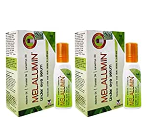 Menarini Melalumin Under Eye Serum (15 ml) - Pack of 2