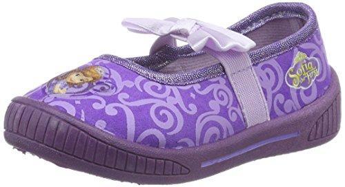 Sofia die ErsteGirls Kids Ballerina Houseshoes - Ciabatte non imbottite Bambina , Viola (Violett (Lpu/PUR 075)), 28