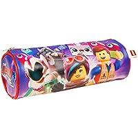 Sambro Barrel Pencil Cases PU 6433 Lego Movie, Multi Colour