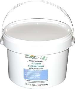 Bicarbonato di sodio per uso alimentare, confezione da 3,5kg