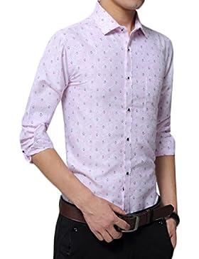 Shirt Hebilla Camiseta De Algodón De Otoño Loose Big Size Hombre Camisa Blusa Match