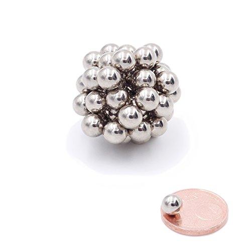 Brudazon   25 Power Kugel-Magnete 5mm   Neodym-Magnete ultrastark - N38   Mini-Magnet für Modellbau, Whiteboard, Pinnwand, Kühlschrank, Basteln   Magnetkugel extra stark