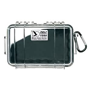 PELI 1050 Micro Case - Black/Clear