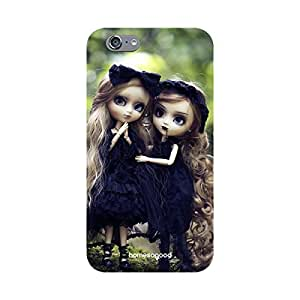 HomeSoGood Gothic Twins Dolls Multicolor 3D Mobile Case For iPhone 6S (Back Cover)