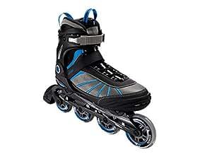 Roller roller softboot pour homme taille 45 couleur :  noir/bleu/gris)