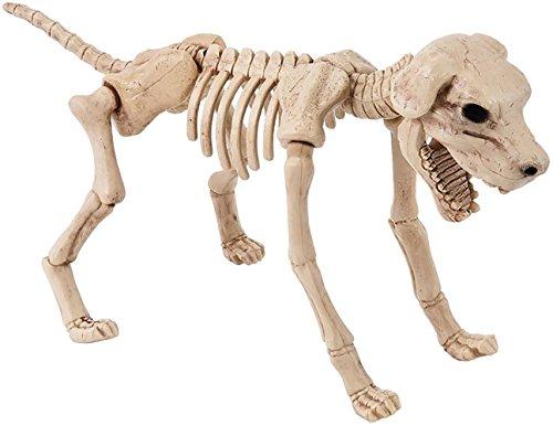 Dekofigur SKELETON DOG -